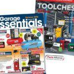 Garage Essentials and Toolchest brochures.