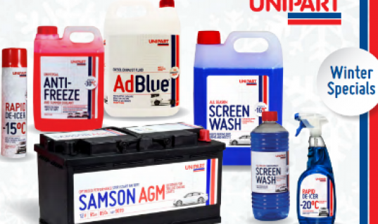 Unipart launches winter products brochure