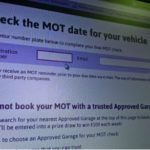 The new MOT check tool on the Approved Garages website for motorists.