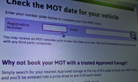 Approved Garages launches online MOT check for motorists