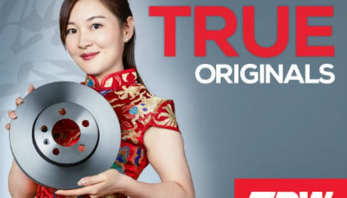 Brake disc innovations highlighted in TRW's 'True Originals' campaign