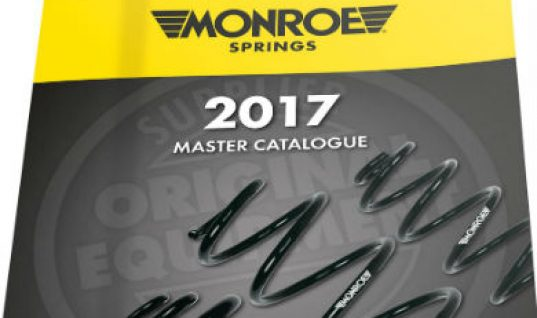 Monroe spring catalogue boasts over 2,000 OESpectrum parts