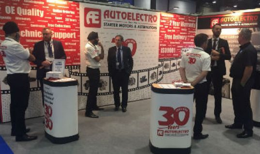Autoelectro shines at GROUPAUTO and UAN event