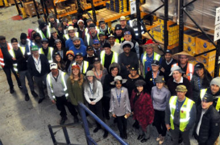 Comline staff wear hats to work in support of BEN