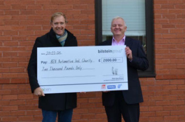 Ferdinand Bilstein makes £2K charity donation to BEN