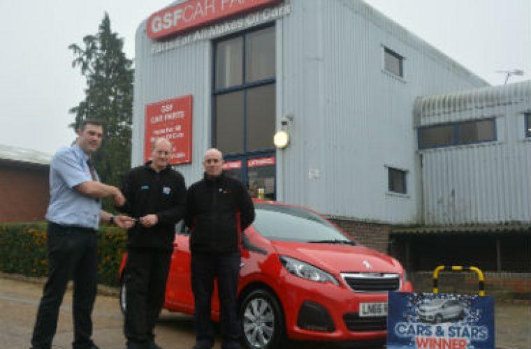 GSF Car Parts delivered Christmas present to independent garage