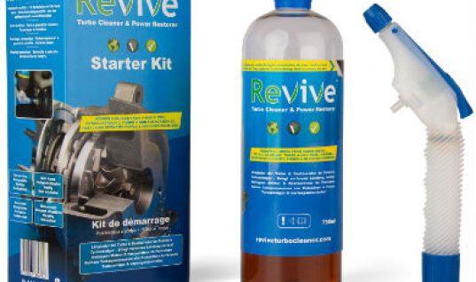 Win a Revive turbo cleaner starter kit worth £49.95 + VAT