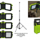 Rechargeable 20W floodlight at ClampCo