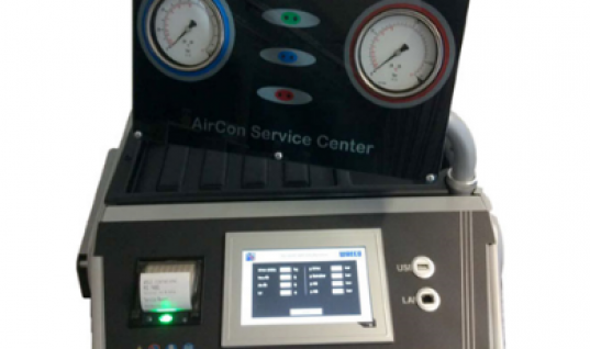 WAECO ASC 7400G: a new air con service unit for CO2