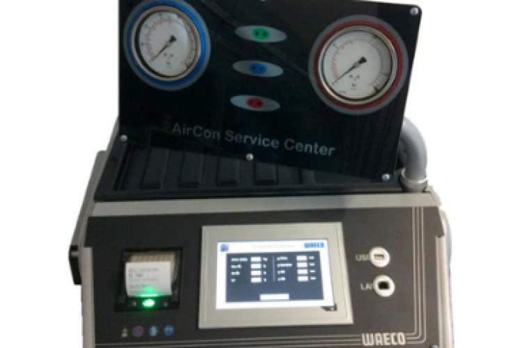 WAECO ASC 7400G: a new air con service unit for CO2