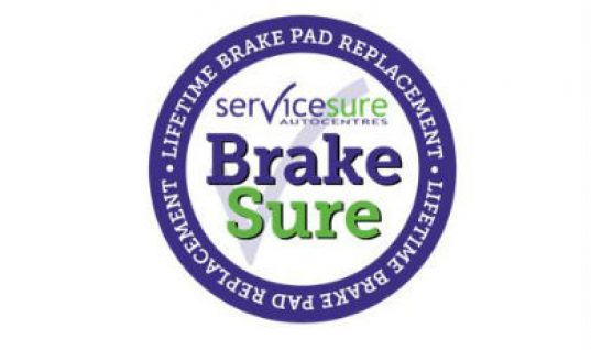 Servicesure Autocentres launches 'Brakes for Life' offer