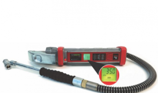 New digital tyre inflator at Prosol