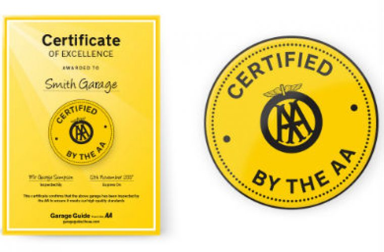 Garage Guide launches 'AA Certified' initiative