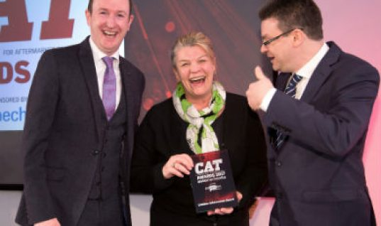 Wendy Williamson receives CAT 'Lifetime Achievement' award