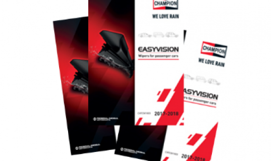Champion launches new Easyvision wiper blade catalogue