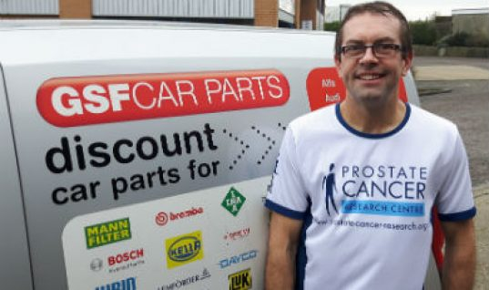GSF branch manager takes on charity marathon