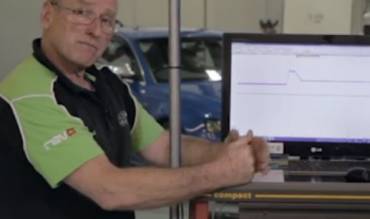 Video: Direct fuel injection high-pressure pump testing