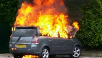 Vauxhall calls on gov for 'vehicle fire database'