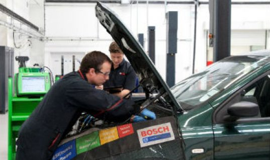 Bosch expands training to include MOT tester training
