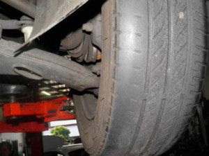 Tyres are a common reason for MOT failure.