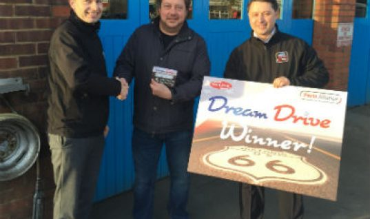 First garage wins USA 'Dream Drive' with Delphi