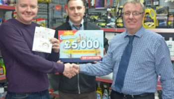 Bradford garage owner wins holiday in GSF promo