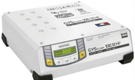 Battery support units from GYS offer safe charging