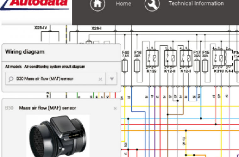Enhanced wiring diagrams available from Autodata - Garagewire