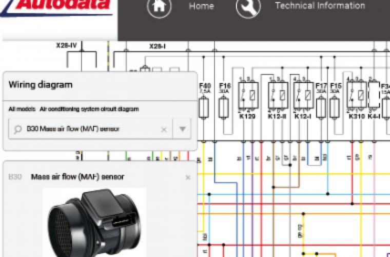 Enhanced wiring diagrams available from Autodata - GaragewireGaragewire
