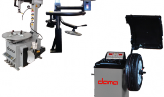Dama tyre changer and wheel balancer Hickleys deal