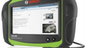 Bosch introduces new KTS 350 all-in-one tester
