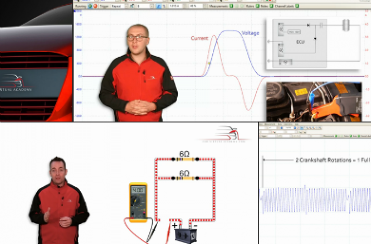 Video: Oscilloscope rulers covered in video training course series