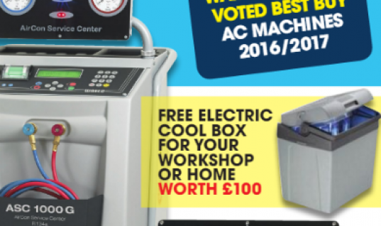 Free electric cool box with Waeco air con machines at TPA factors
