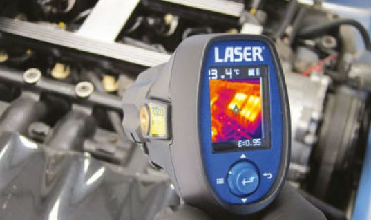 Video: new thermal imaging camera from Laser