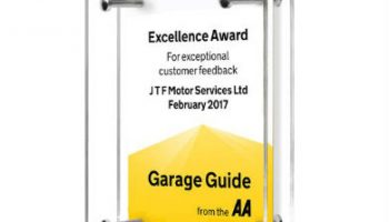 AA Garage Guide launch Garage of the Month award