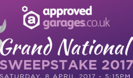 Take part in the Approved Garages Grand National sweepstake