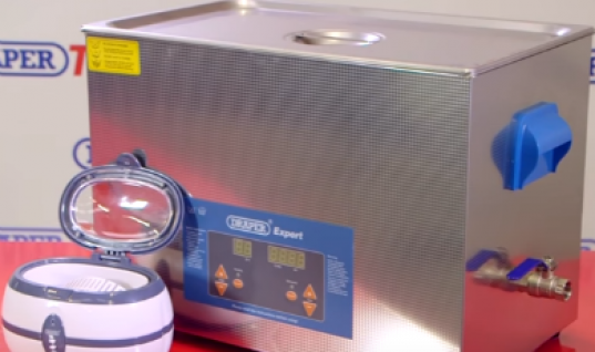 Video: Draper Tools highlights ultrasonic cleaning tanks