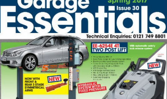 Spring issue of 'Garage Essentials' now available