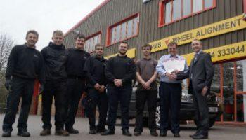 Garage to 'reap benefits' from Accredited Garage Scheme