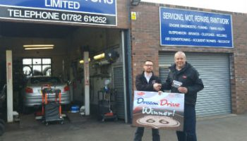 Staffordshire family garage owner wins 'Dream Drive'