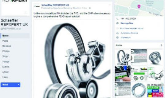Schaeffler launches REPXPERT Facebook account