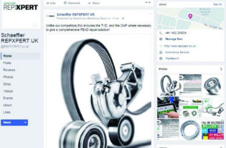 Schaeffler launches REPXPERT Facebook account