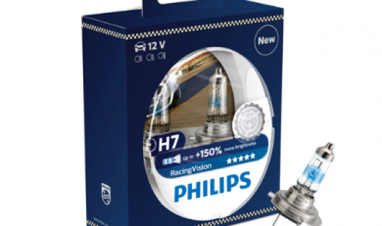 Win a pair of Philips RacingVision headlights