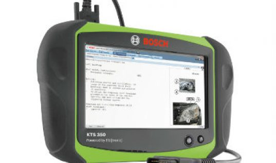 Bosch launches KTS 350 all-in-one tool
