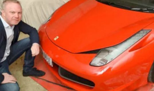 Ferrari owner gets £10,000 pay-out for pothole damage