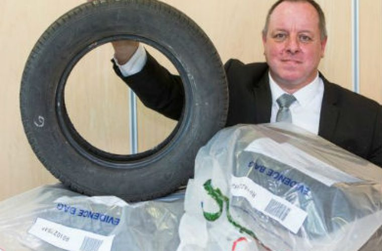 Calls for part-worn tyre ban following trading standards sting