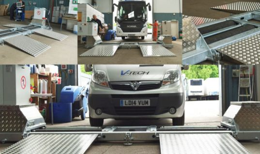 Video: V-Tech mobile brake testing live installation