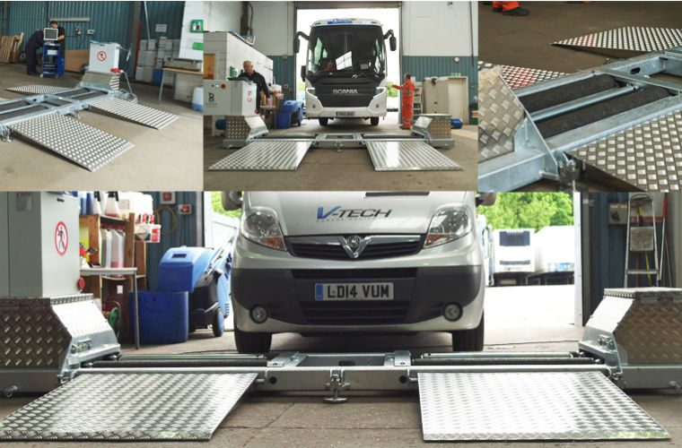 Video: V-Tech mobile brake testing live installation
