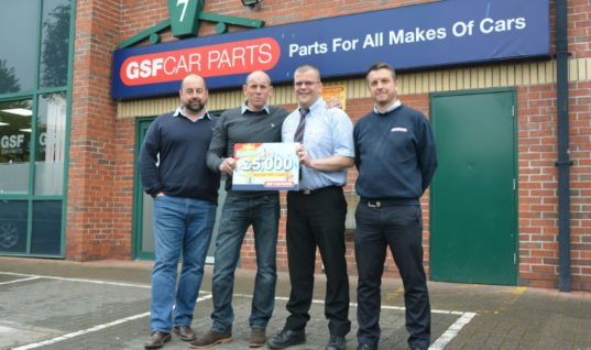 GSF promotion winner shares reward with staff