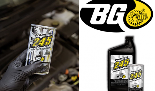 BG releases new diesel fuel system cleaner